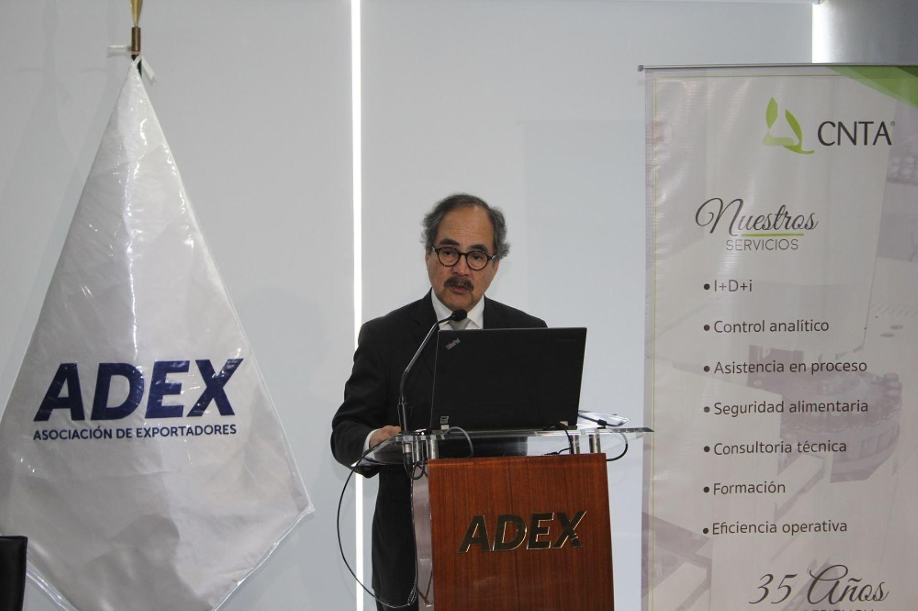 Presidente de Adex, Juan Varilias. ANDINA/Difusión