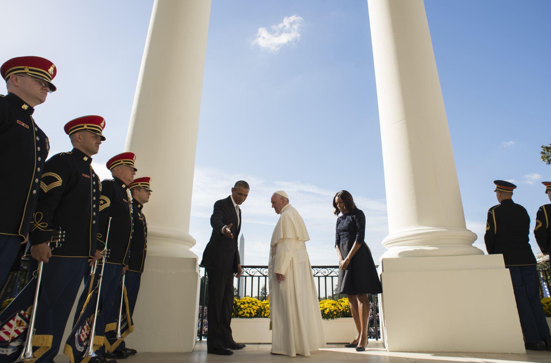 Papa Francisco visita Estados Unidos. Foto: AFP