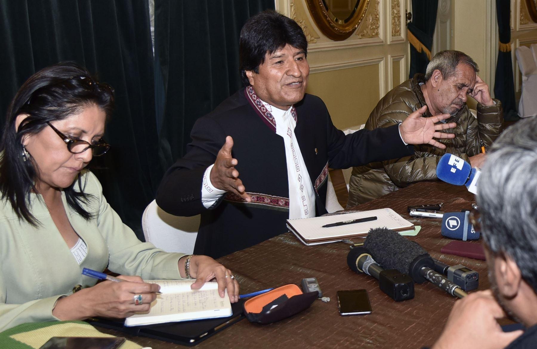 Evo Morales Foto: AFP