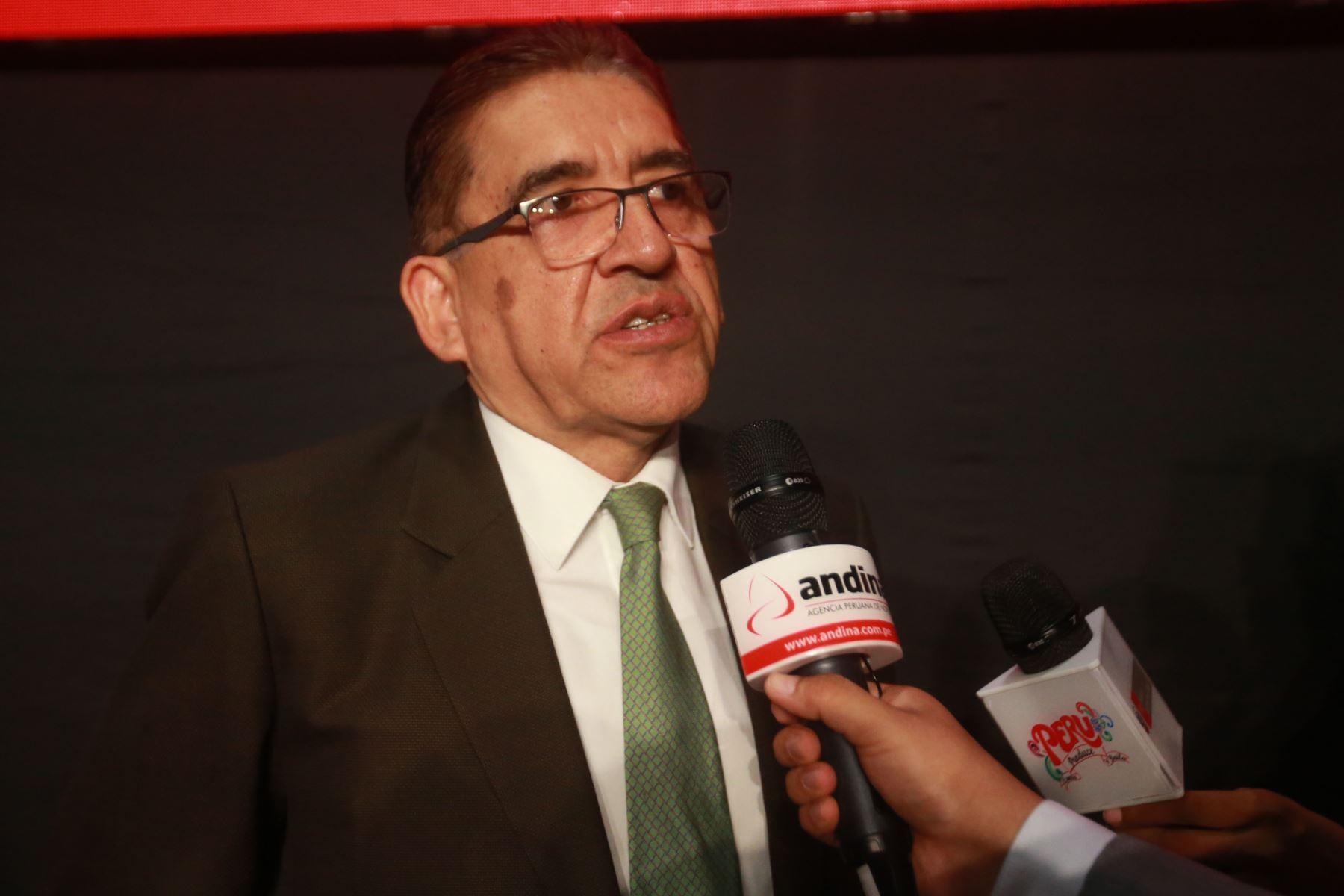 Presidente de Sierra y Selva Exportadora, William Arteaga. ANDINA/Jhony Laurente