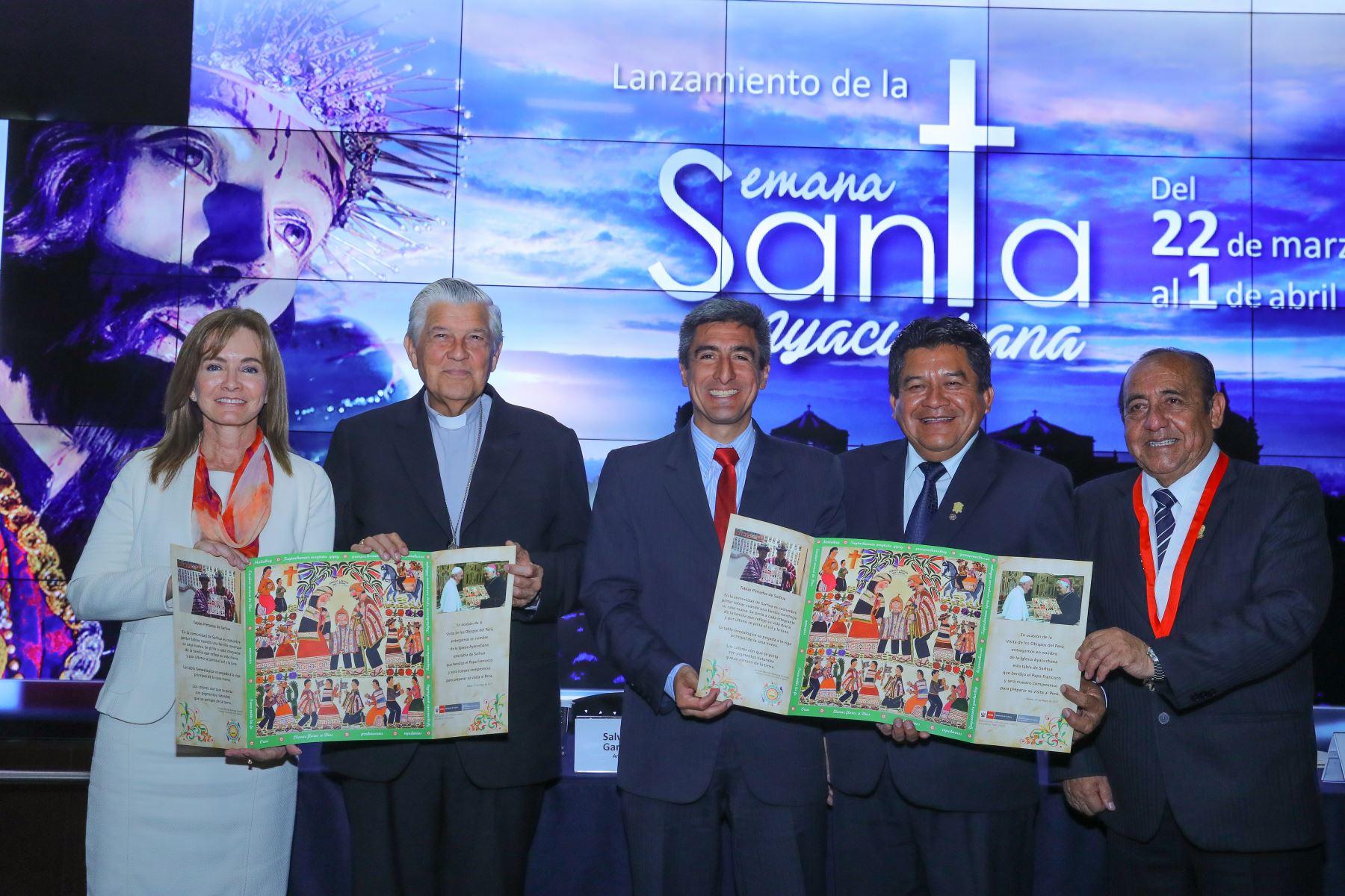 Más de 50,000 visitantes, entre nacionales y extranjeros, proyecta recibir la ciudad de Ayacucho durante los once días que durarán las celebraciones de la Semana Santa 2018, del 22 de marzo al 1 de abril, considerada la segunda más imponente del mundo, después de la de Sevilla, en España. ANDINA