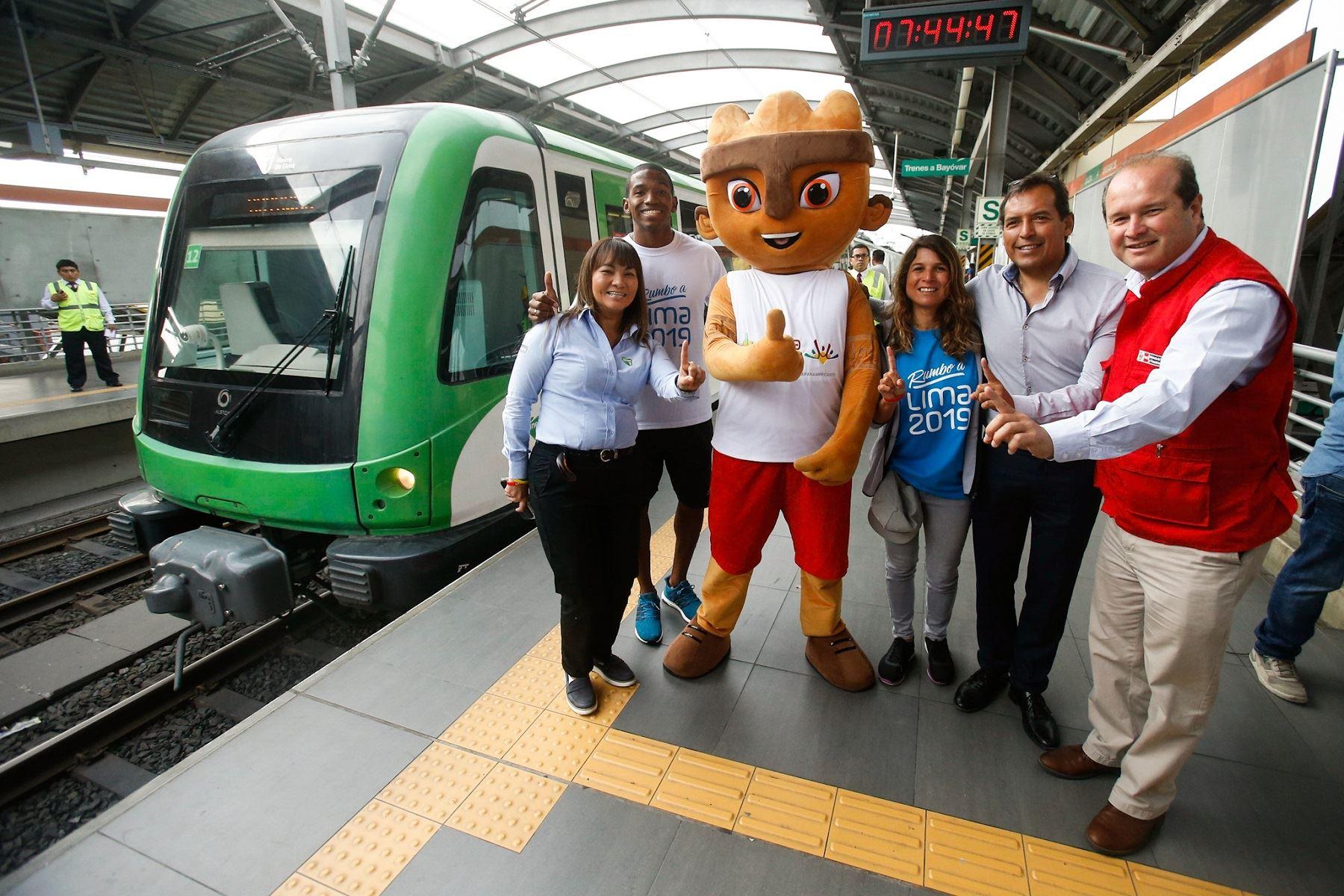 La Línea 1 de Lima será una gran aliada de los Juegos Panamericanos Lima 2019