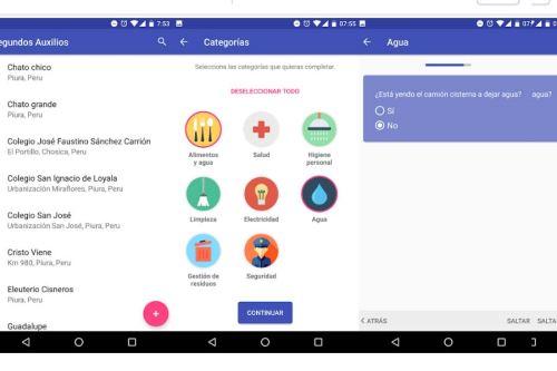 La herramienta también cuenta con un panel de control para monitorear las acciones de ayuda social.