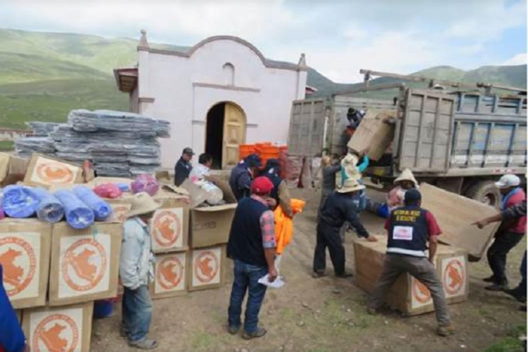 Deslizamiento en Llusco ocurrió a consecuencia de las intensas lluvias que se registran en Cusco.