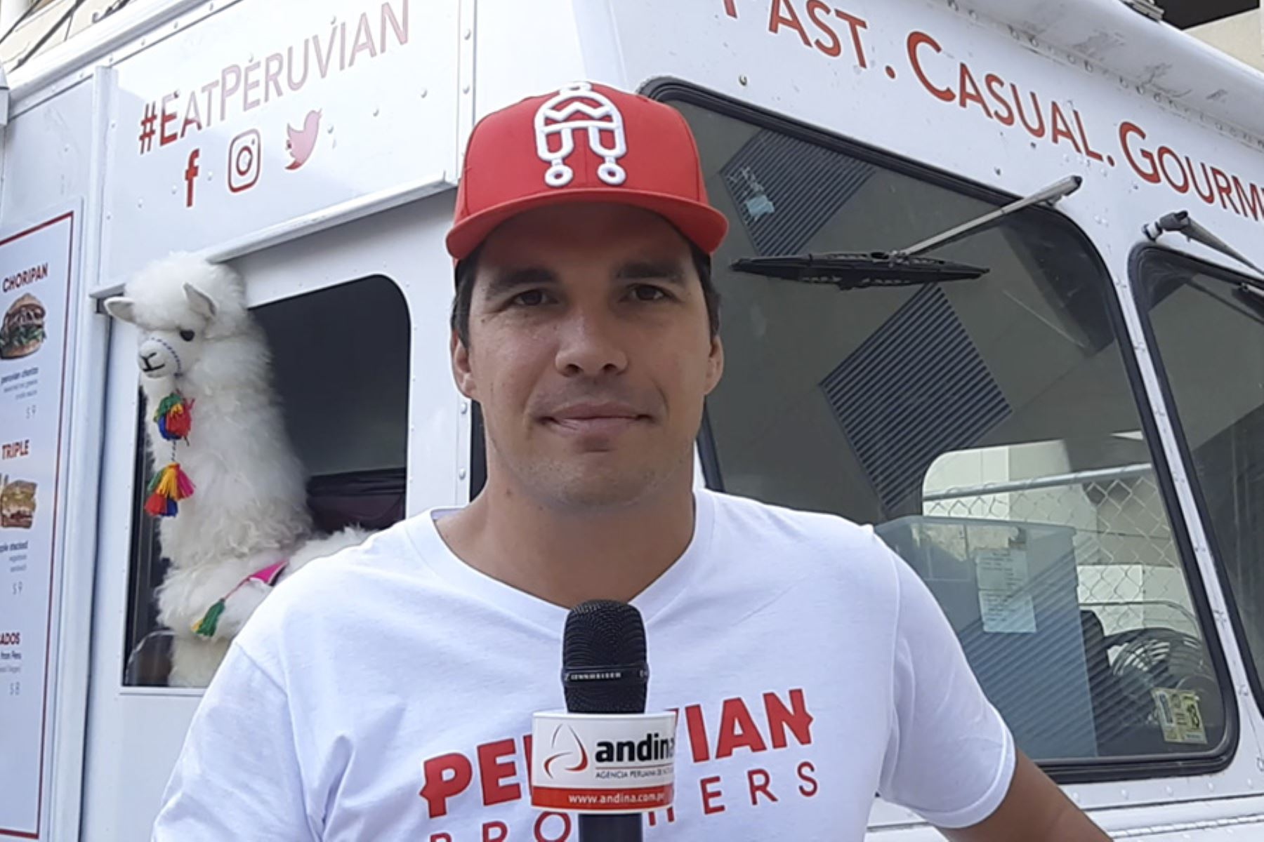 El food truck Peruvian Brothers fue representante de la delegación peruana en la Casa Perú en Austin, Texas. Foto: Andina