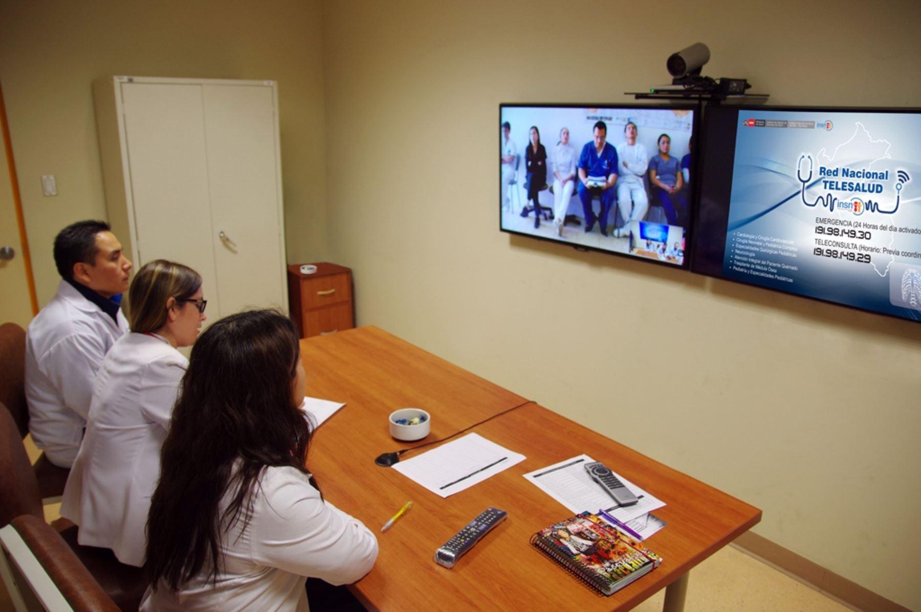 Con telemedicina salvan vida a paciente con problemas cardiacos. ANDINA/Difusión