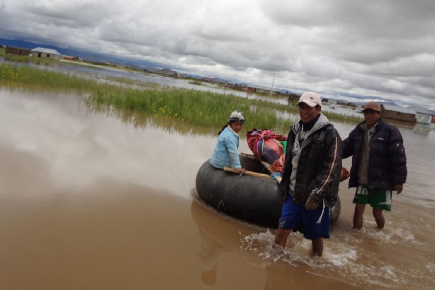 Las autoridades del Senamhi recomienda tomar las precauciones correspondientes y evitar realizar actividades cercanas al río.ANDINA/Difusión