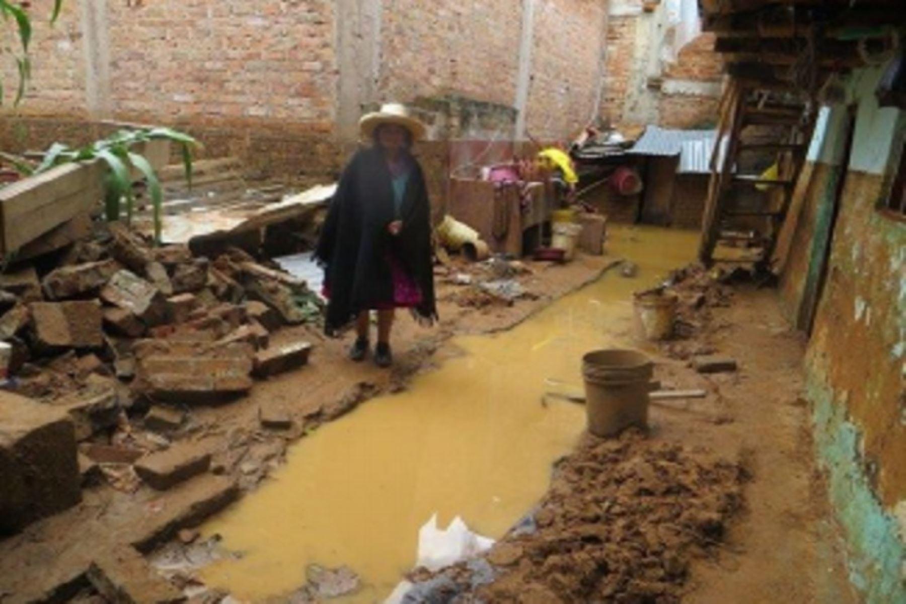 Gobierno declara en emergencia Huancavelica por desastres causados por intensas lluvias