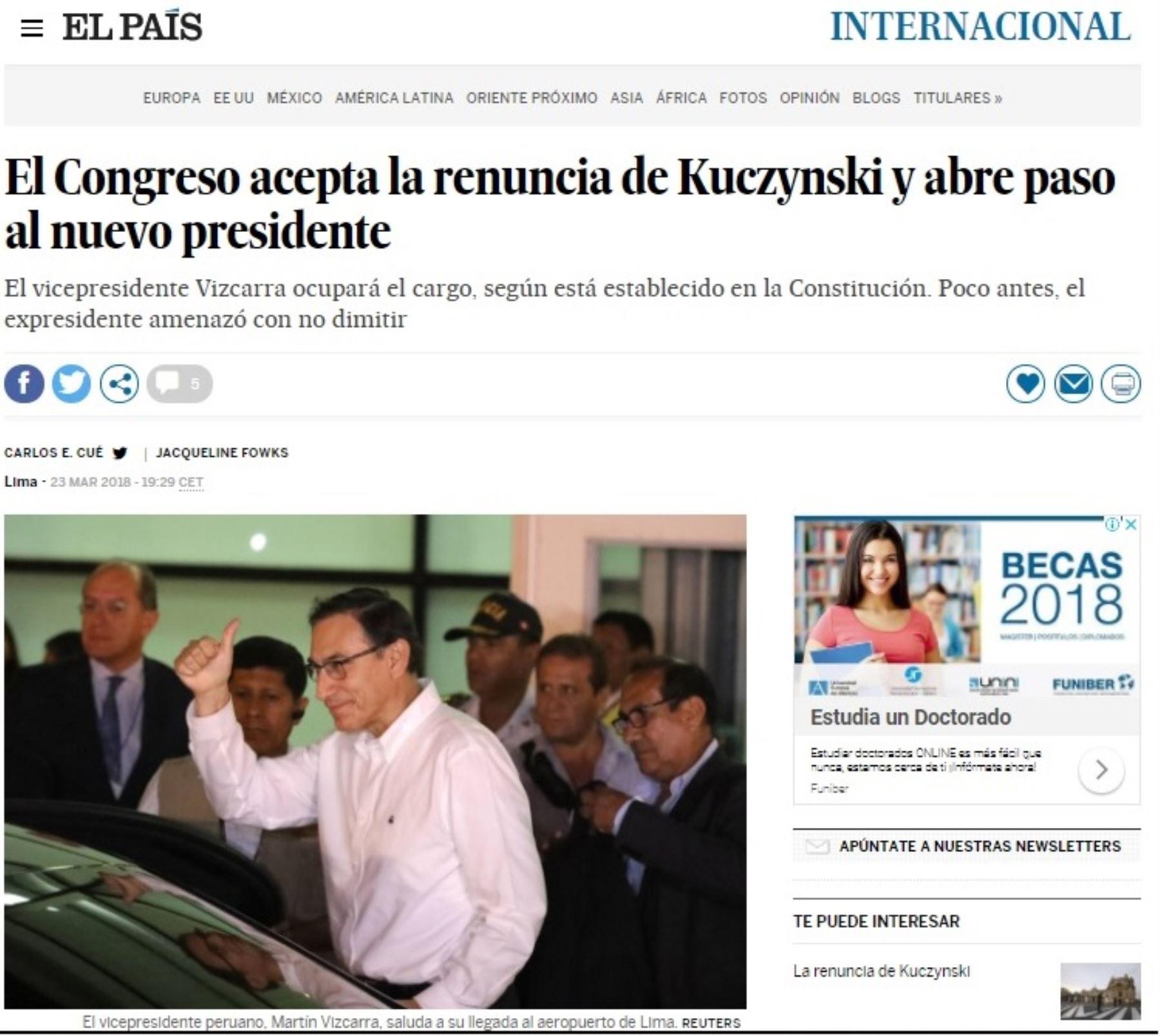 Foto: INTERNET/Medios
