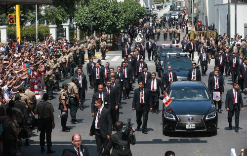 Presidente de la República Martín Vizcarra. ANDINA/Jhony Laurente