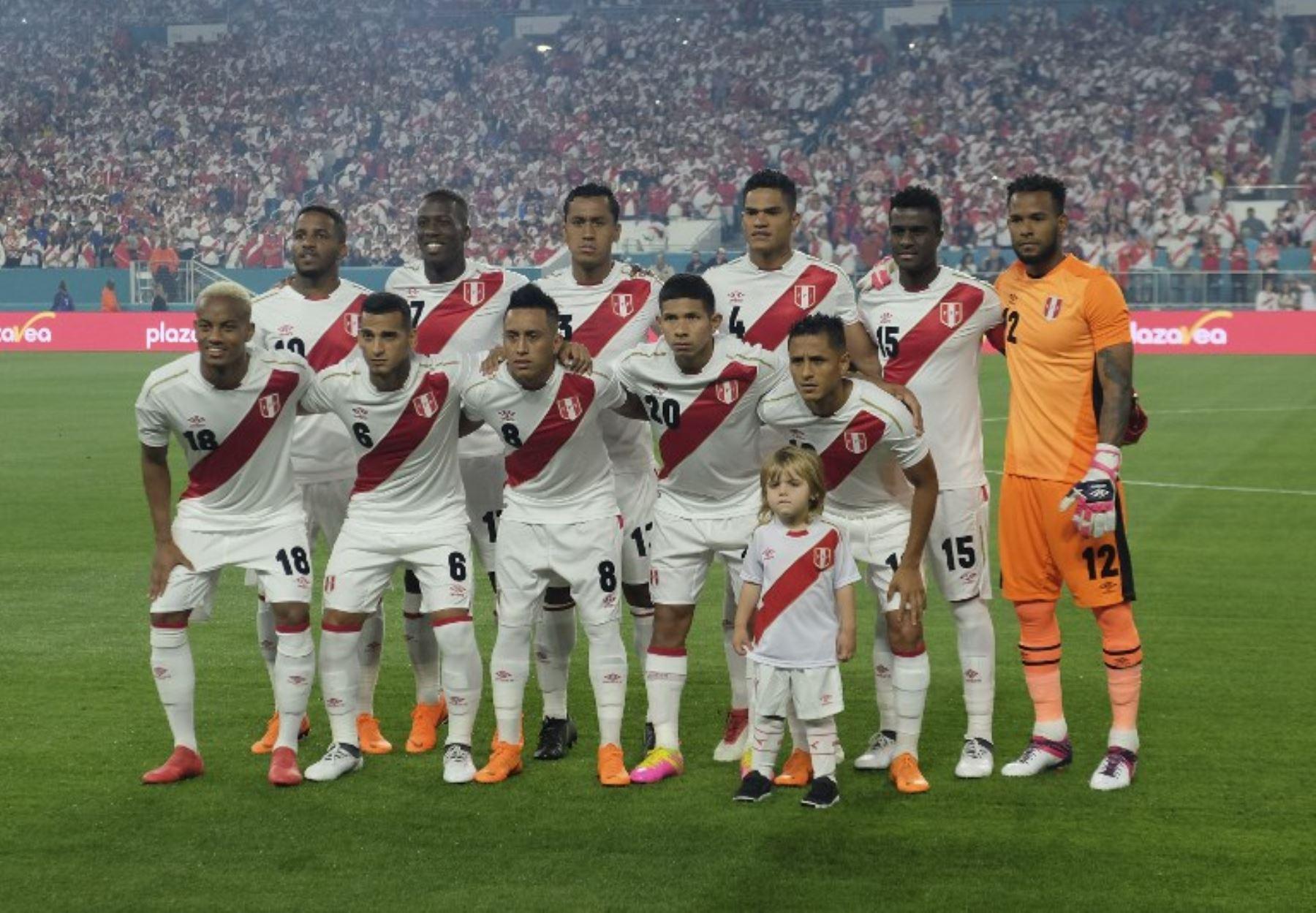 df7634153 Selección peruana  conoce su agenda rumbo al Mundial de Rusia 2018 ...