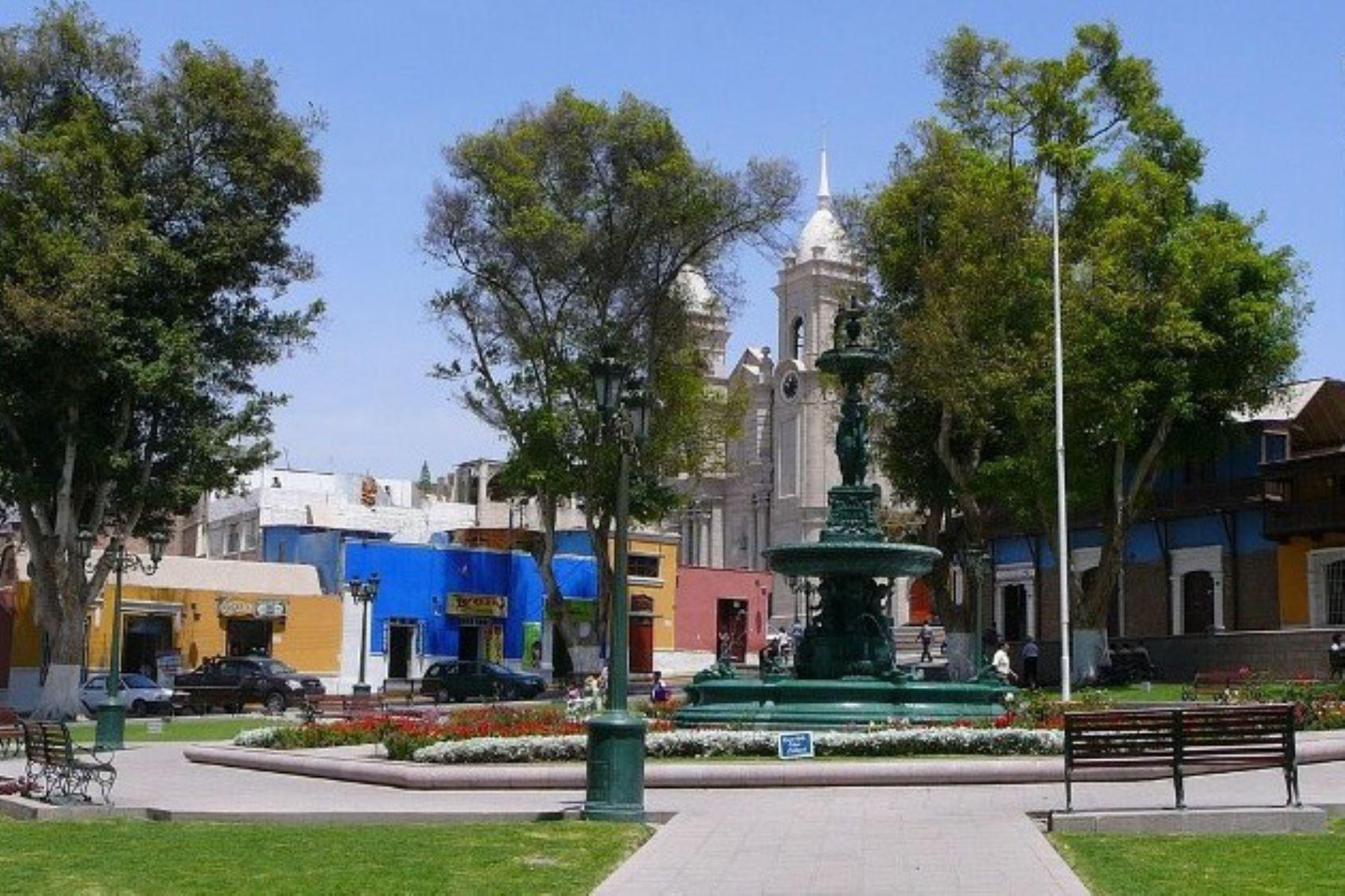 Plaza de Armas de Moquegua. ANDINA/Difusión