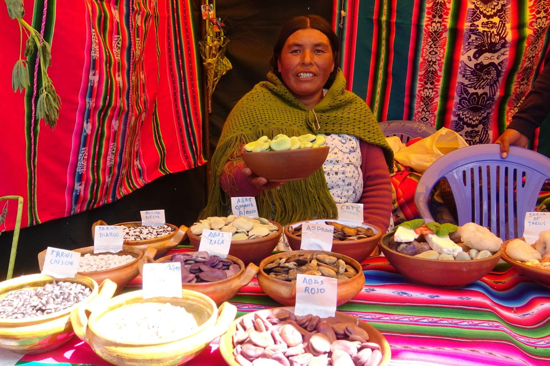 Crece exportación de haba gigante de Puno a Argentina y Ecuador. ANDINA