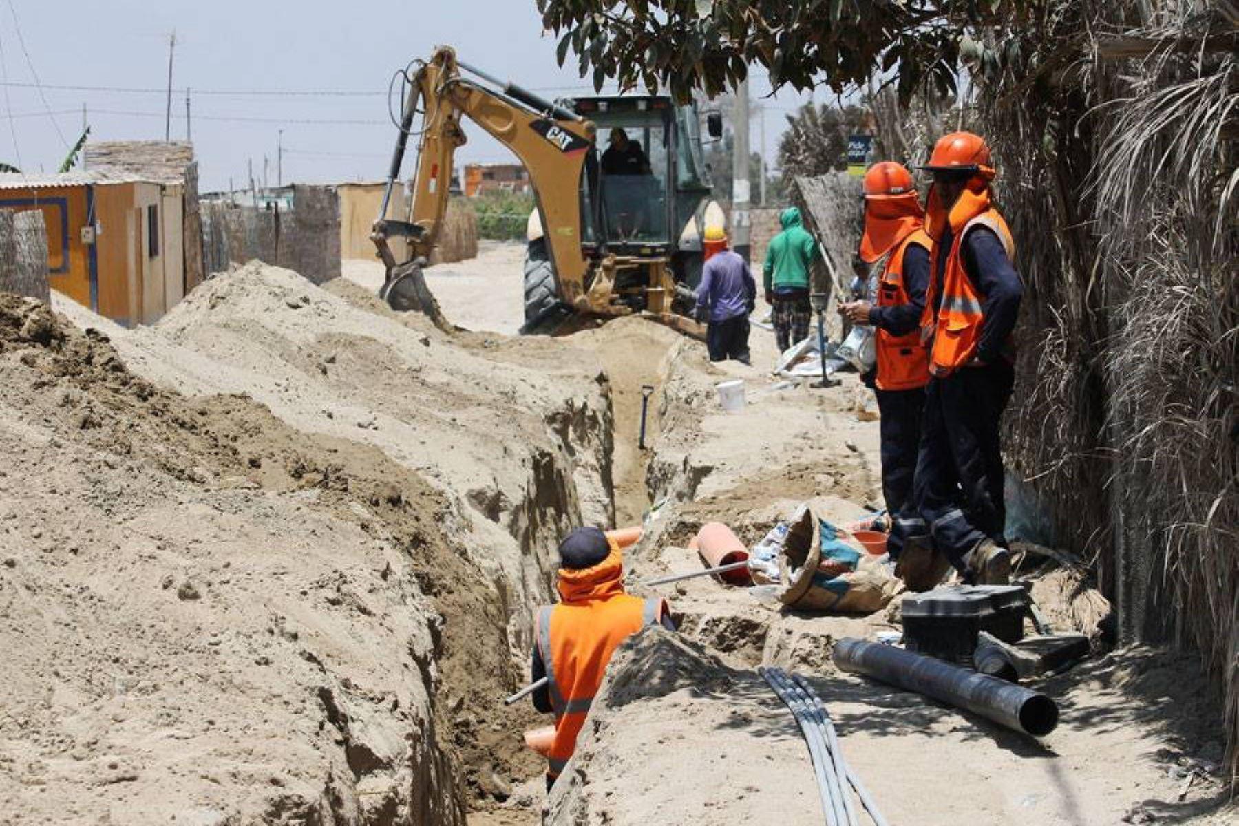 Nuevo sistema de agua beneficia a más de 1,000 personas en Paracas. ANDINA/Difusión