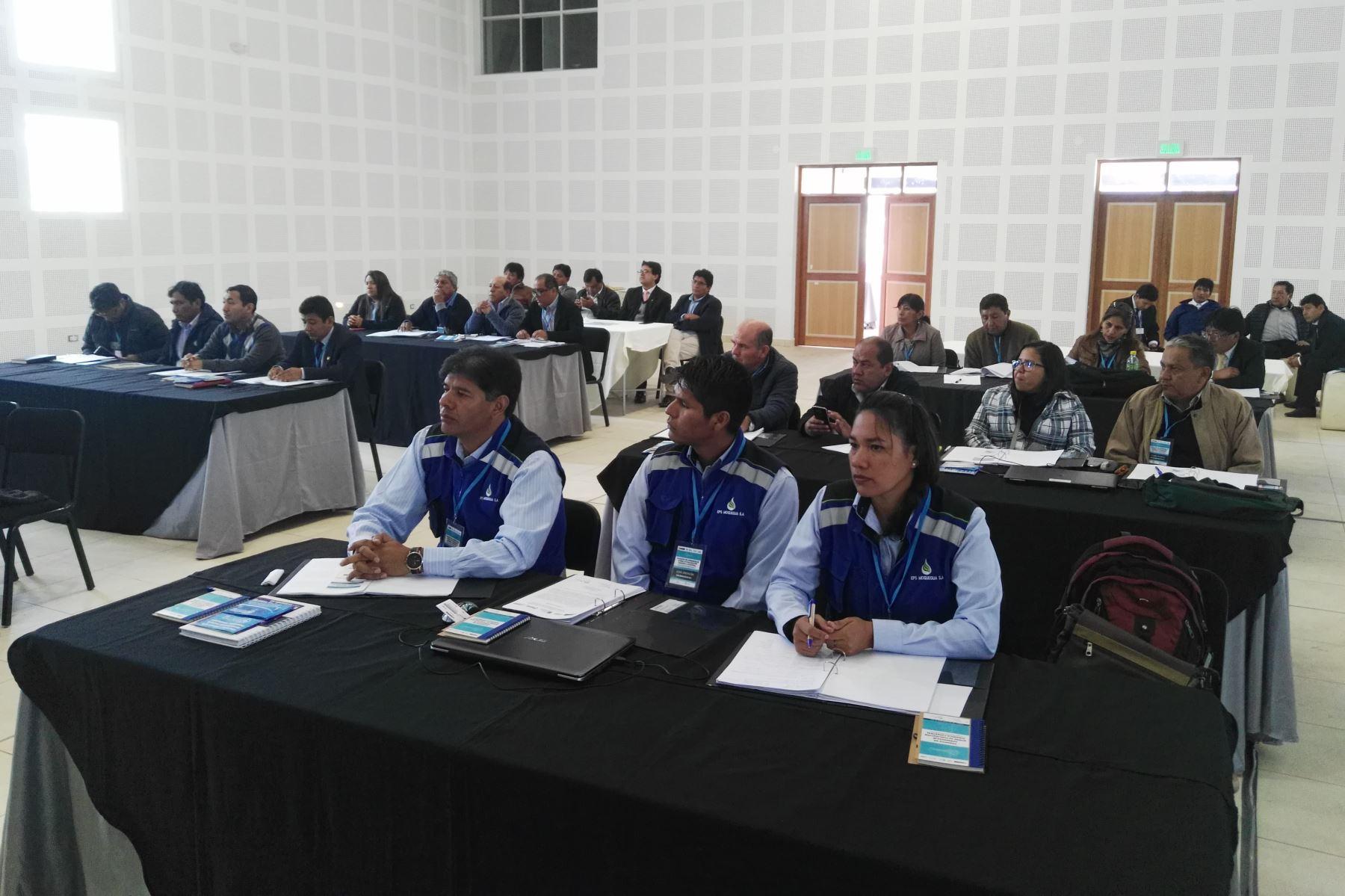 Empresas de agua y saneamiento realizan pasantía en buenas prácticas comerciales en Cusco.Foto:  ANDINA/Difusión