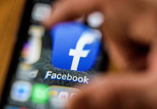 Logo de Facebook. Foto: AFP