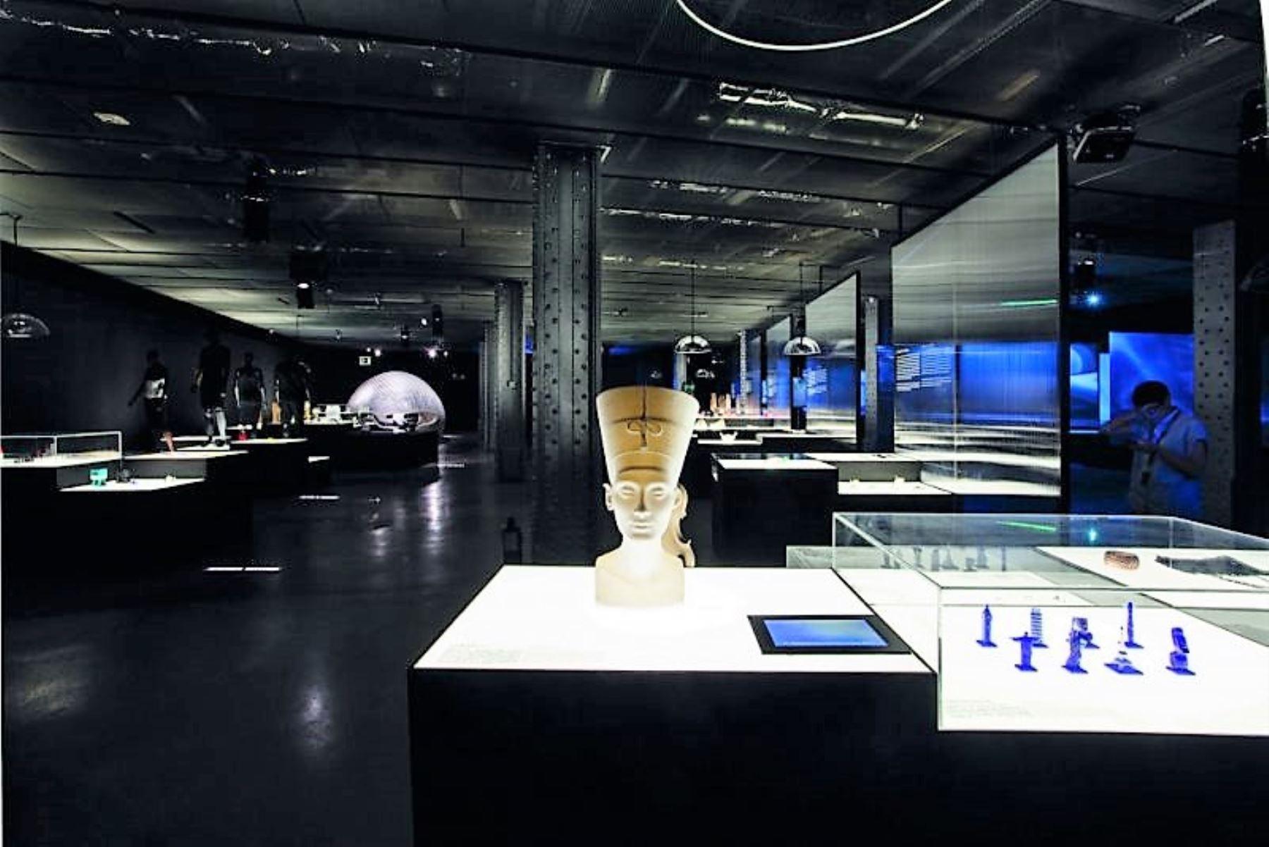 Fundación Telefónica exhibe muestra 3D Imprimir el Mundo hasta el 1 de abril.