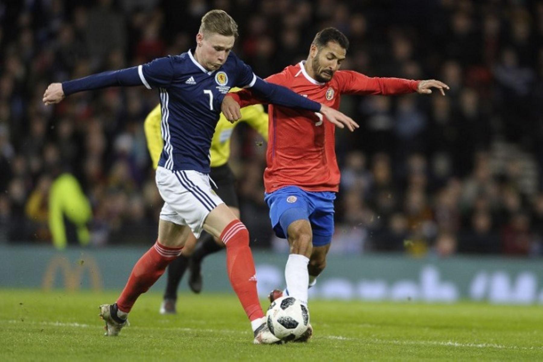 Escocia será un rival complicado para Perú.