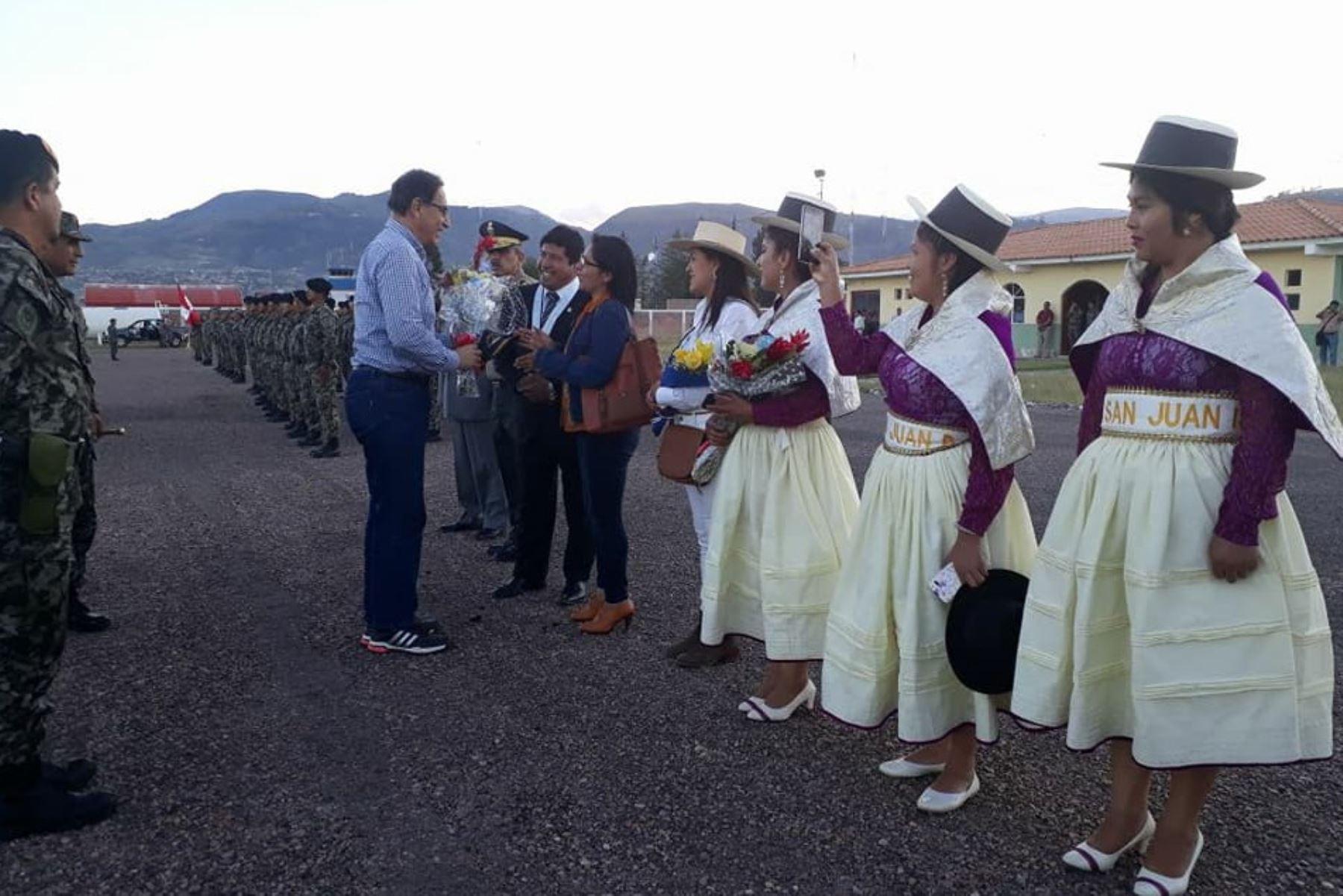 Martín Vizcarra en Ayacucho. Foto: Internet/Medios.