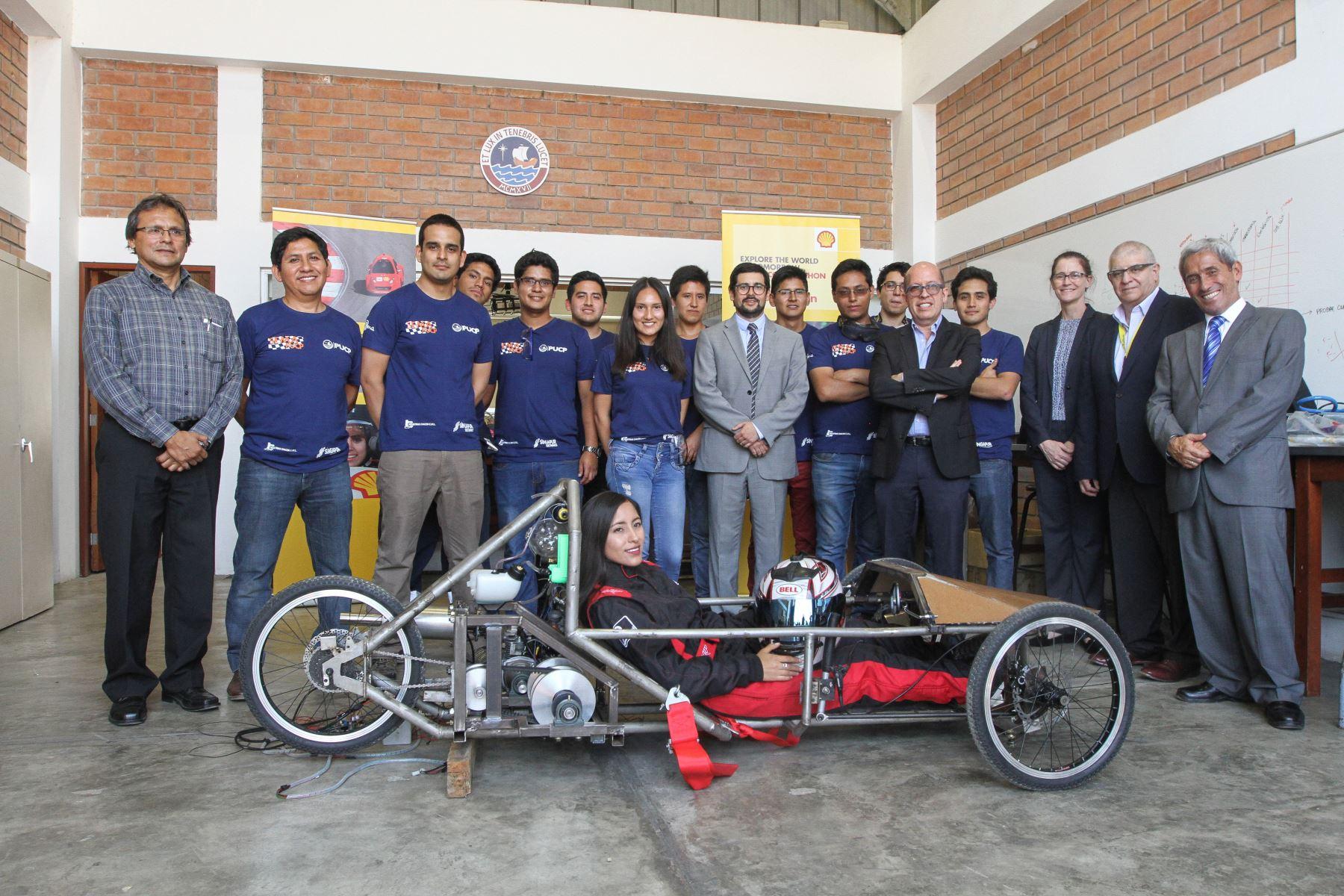 Alumnos de la PUCP participarán en importante competencia de automovilismo. Foto: Andina/Difusión