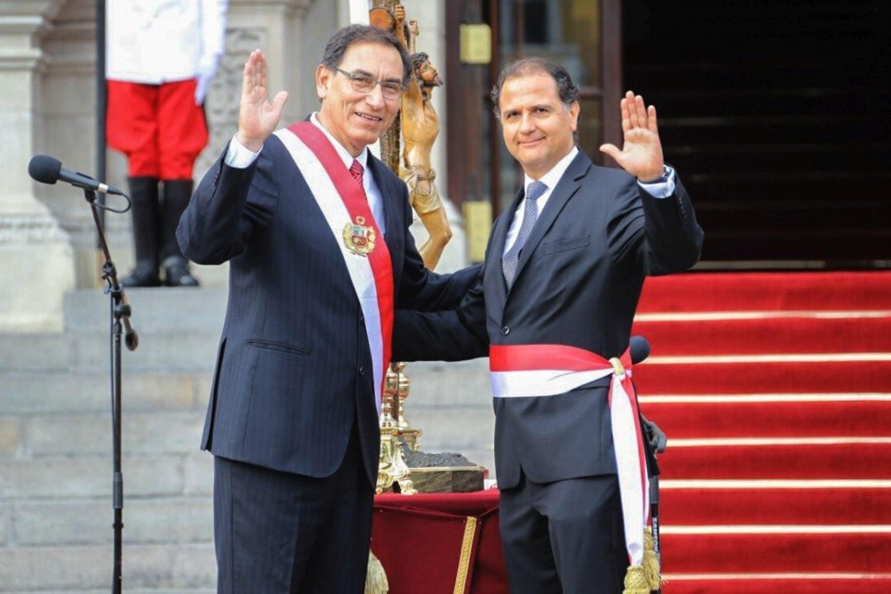 Nuevo ministro de Energía y Minas, Francisco Ísmodes. Fuente: MEM