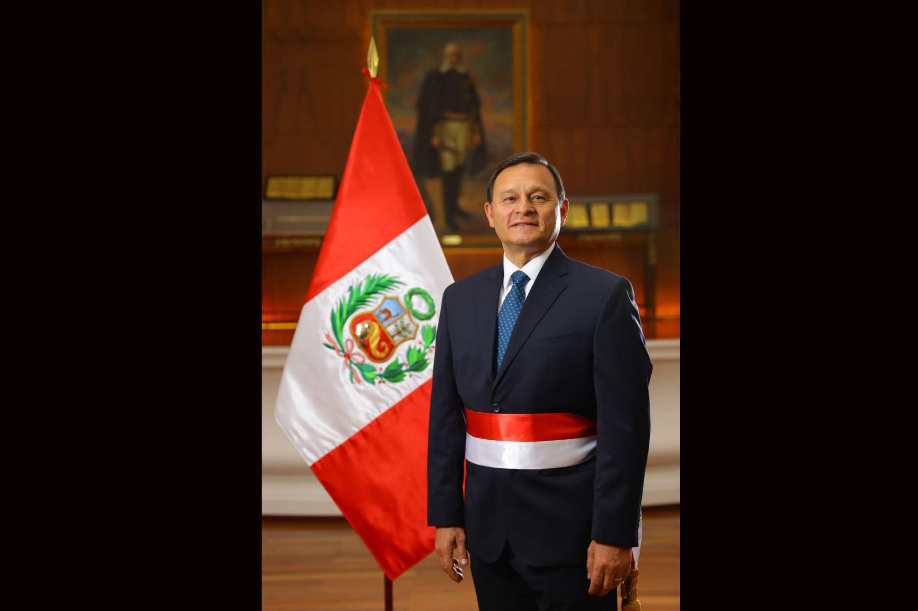 Ministerio de Relaciones Exteriores Néstor Francisco Popolizio Bardales . Foto: ANDINA/ Prensa Presidencia