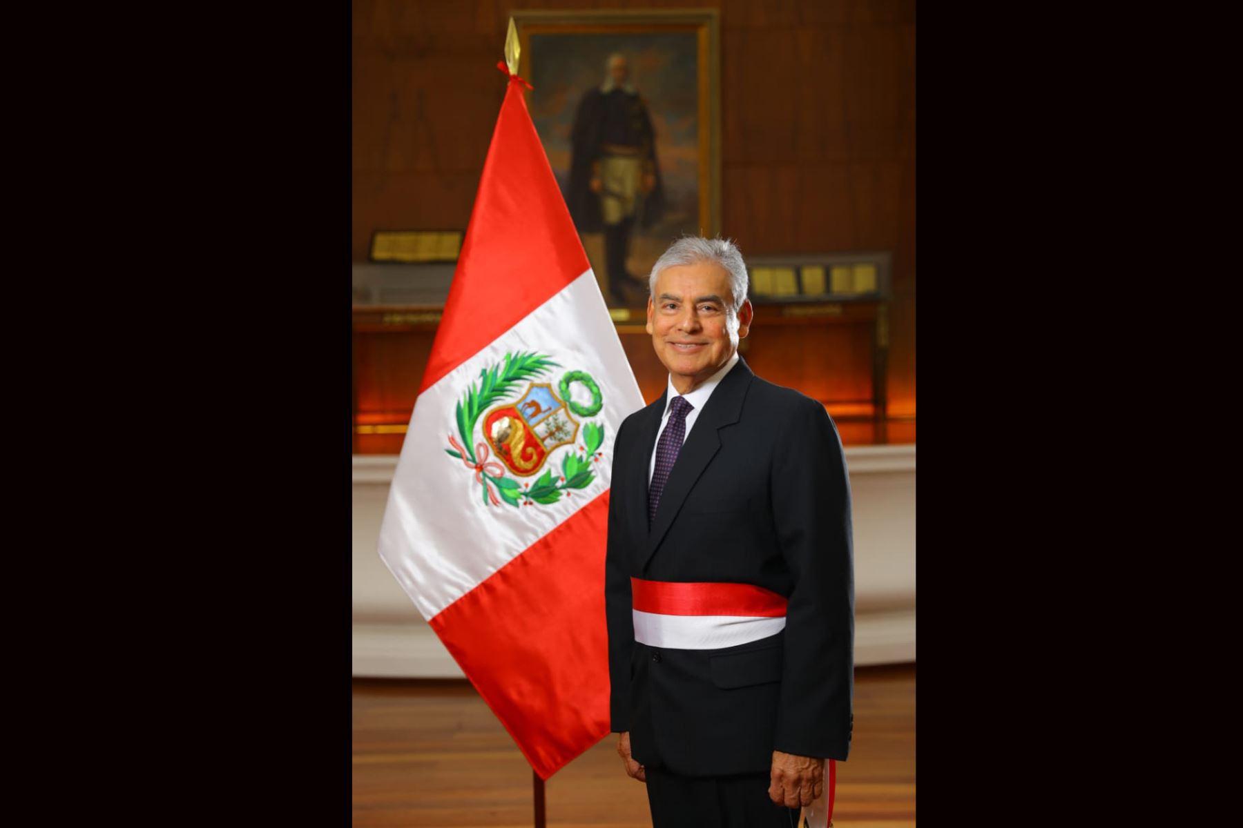 César Villanueva, jefe del Gabinete Ministerial del primer gabinete del Presidente Martín Vizcarra. Foto: ANDINA/ Prensa Presidencia