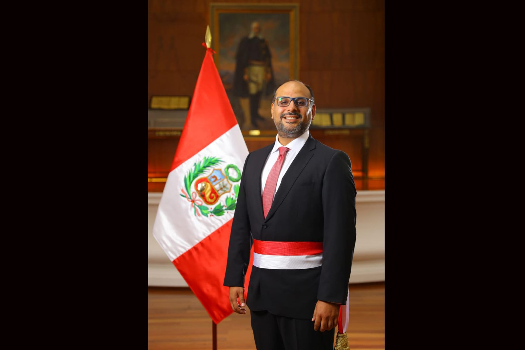 Daniel Alfaro Paredes, Ministro de Educación. Foto: ANDINA/ Prensa Presidencia