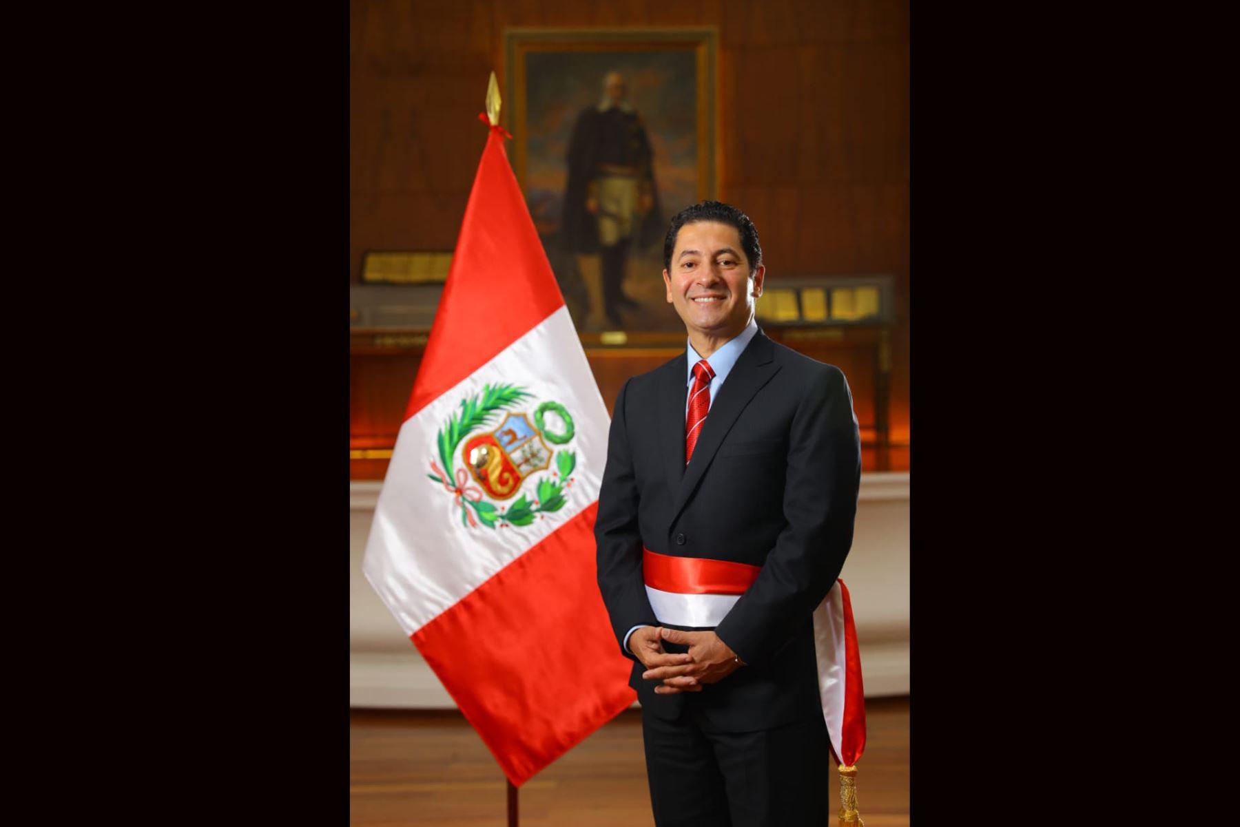 Ministerio de Justicia y Derechos Humanos Carlos Salvador Heresi Chicoma. Foto: ANDINA/ Prensa Presidencia