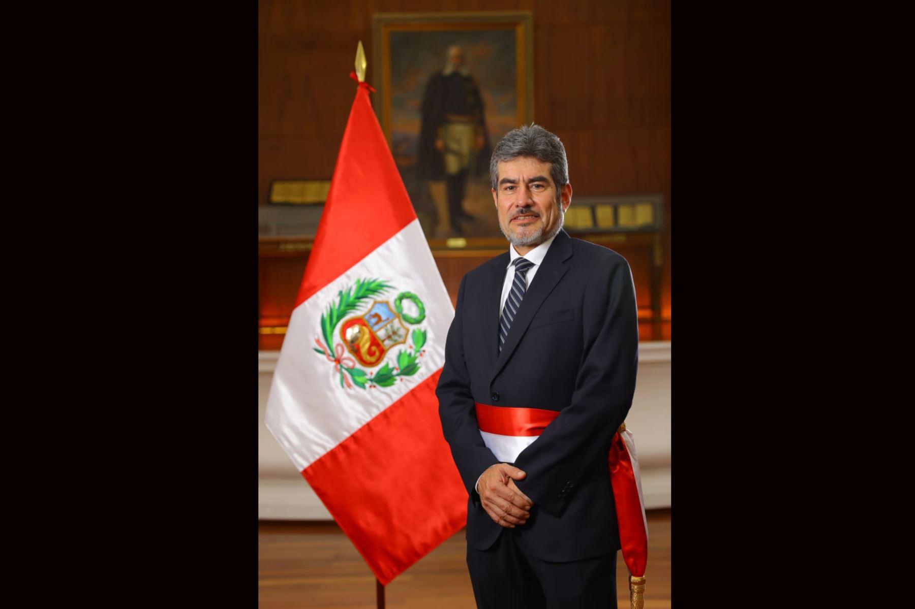 Rogers Martín Valencia Espinoza, Ministro de Comercio Exterior.Foto: ANDINA/ Prensa Presidencia