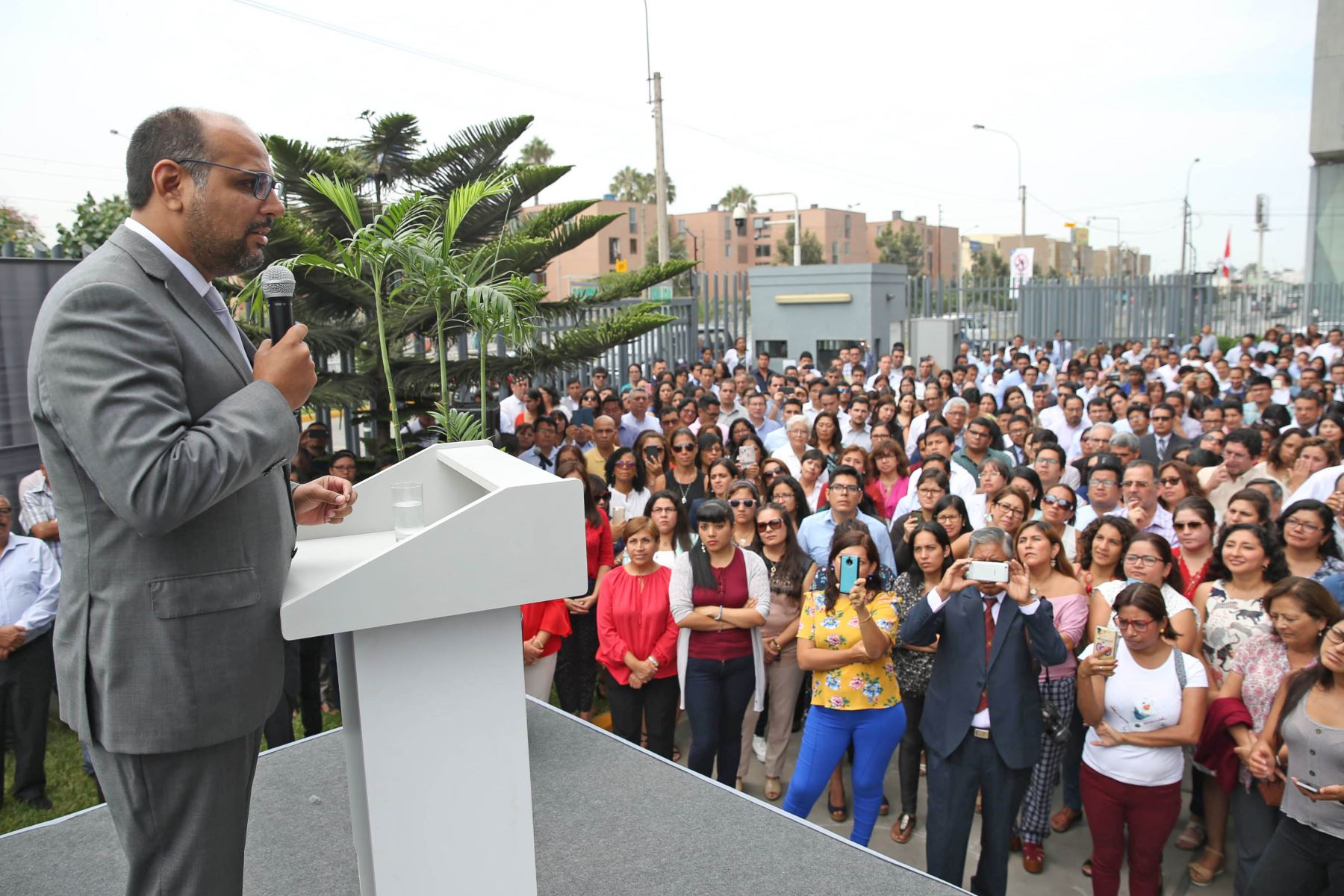 Ministro Daniel Alfaro, Foto: ANDINA/Difusión.