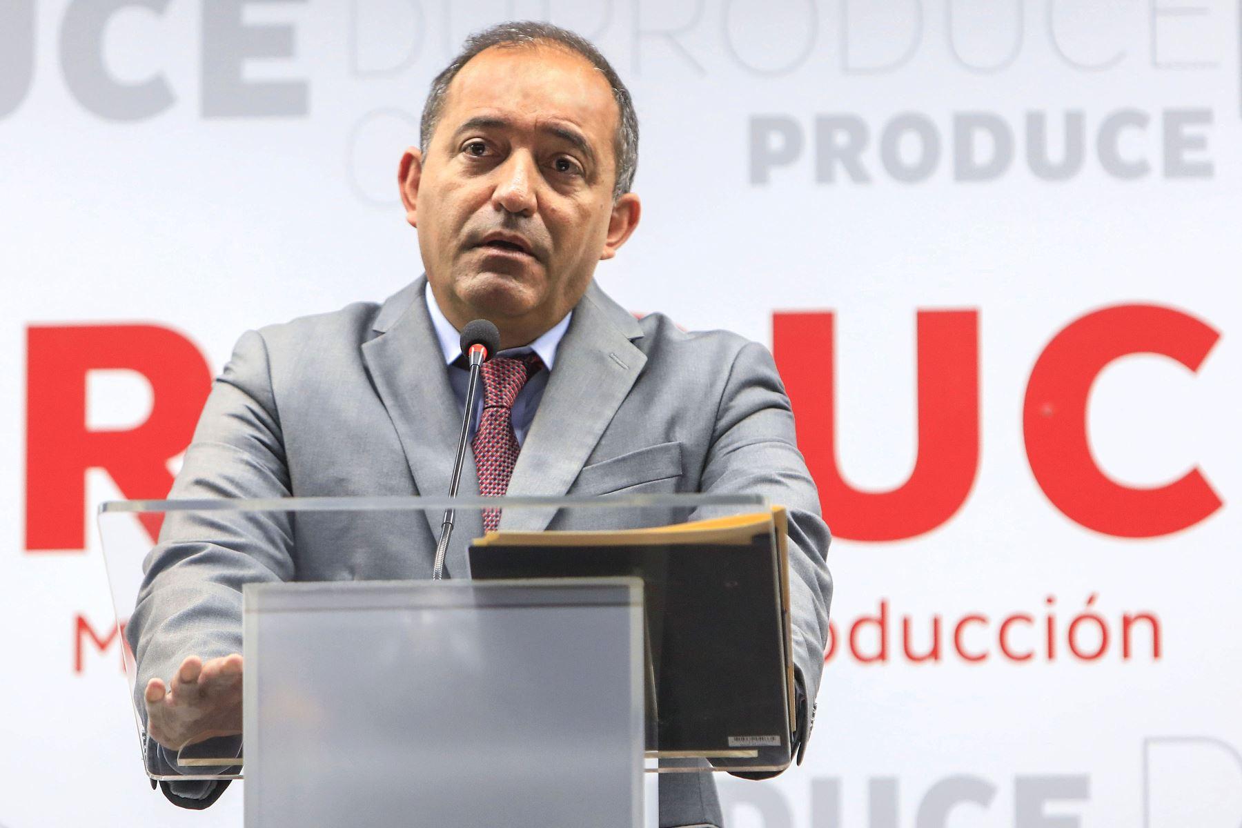 Ministro de la Producción, Daniel Córdova. ANDINA/Eddy Ramos