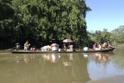 La ONG Rainforest Partnership con sede en Austin, Texas, busca proteger los bosques de la comunidad Achuar en el Perú. Foto: Rainforest Partnership/Cortesía