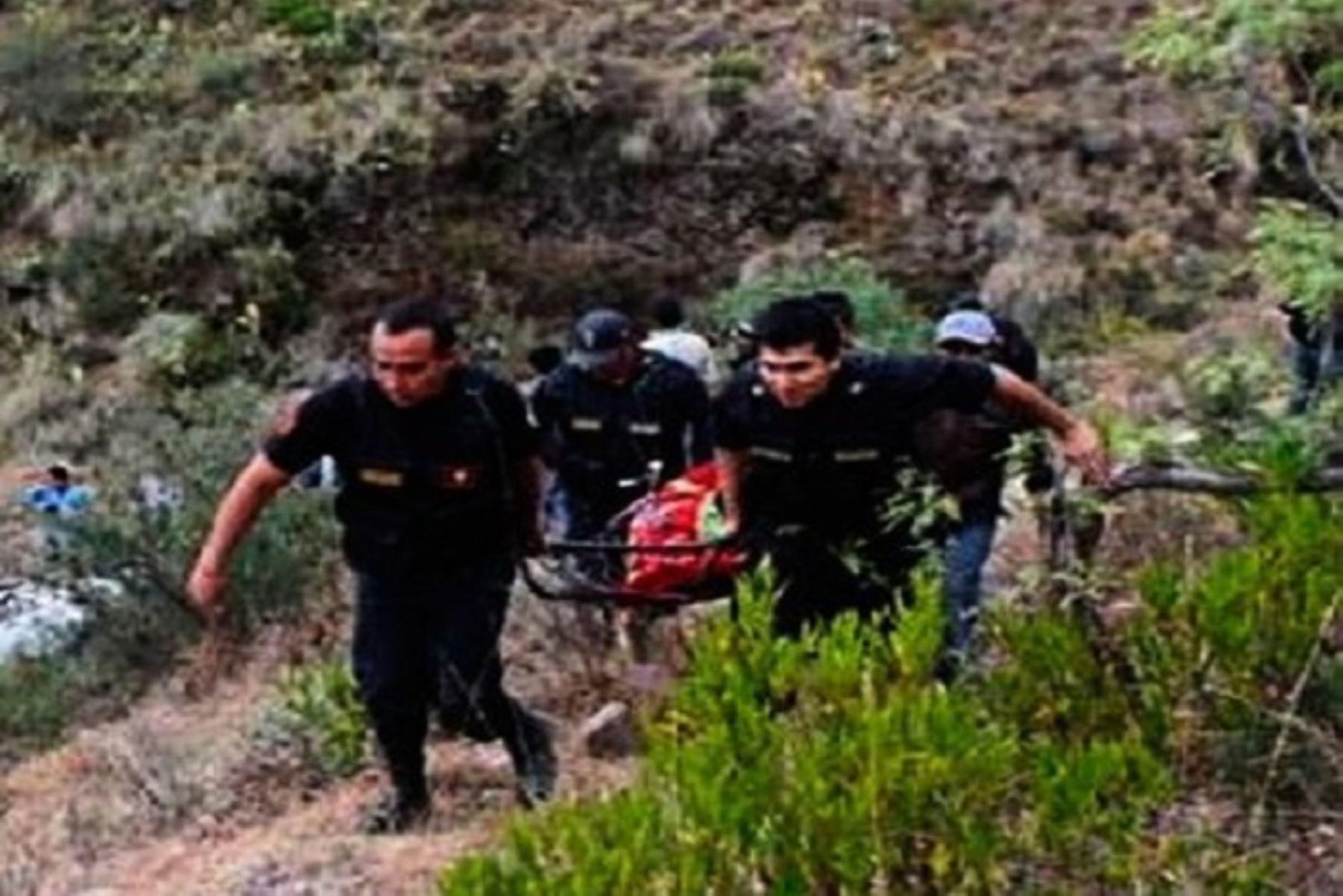 Las víctimas fueron identificadas como Milushka Marisella Pacheco Colquicocha (29) y Vincer Quispe Reyes (23), ayudante de guía de turismo.