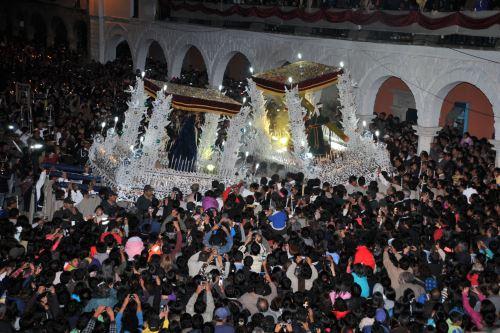 Todo listo en Ayacucho para celebrar la Semana Santa. ANDINA/Difusión