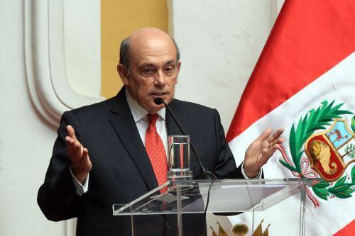 Embajador Hugo de Zela. Foto: ANDINA/archivo
