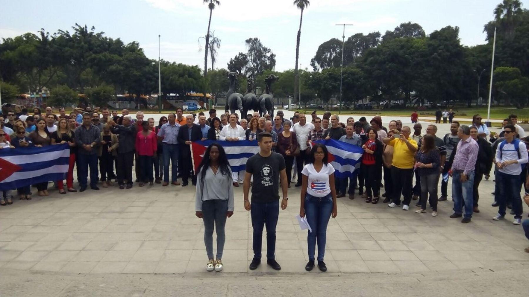 Delegación de la sociedad civil cubana llegó a Lima para Cumbre de las Américas.