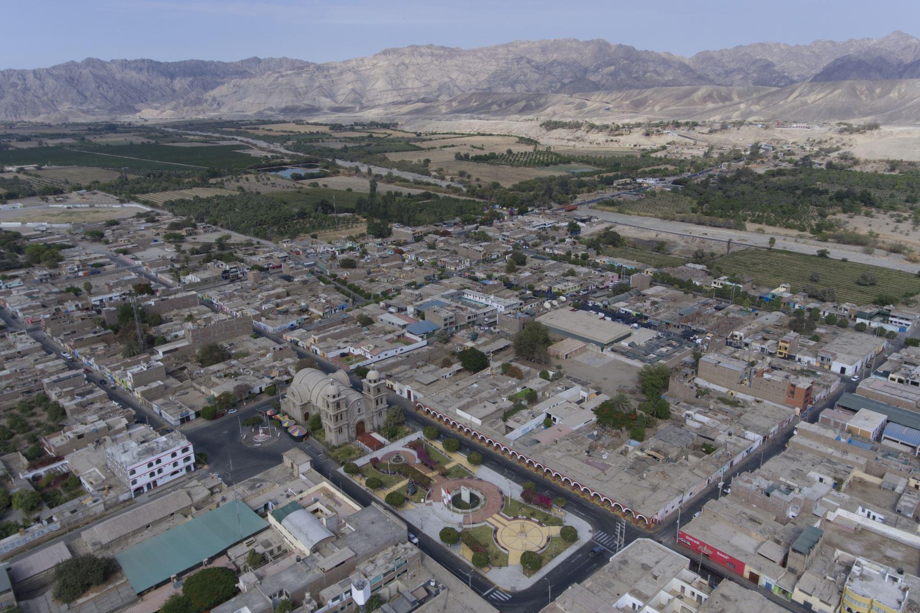La ciudad de Palpa, región Ica, fue remecida esta mañana por un sismo de magnitud 4.5. Foto: ANDINA.
