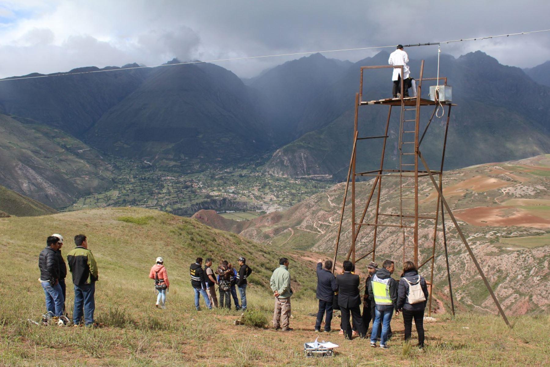 Anuncian operativos en Cusco para erradicar informalidad en turismo de aventura. ANDINA/Percy Hurtado