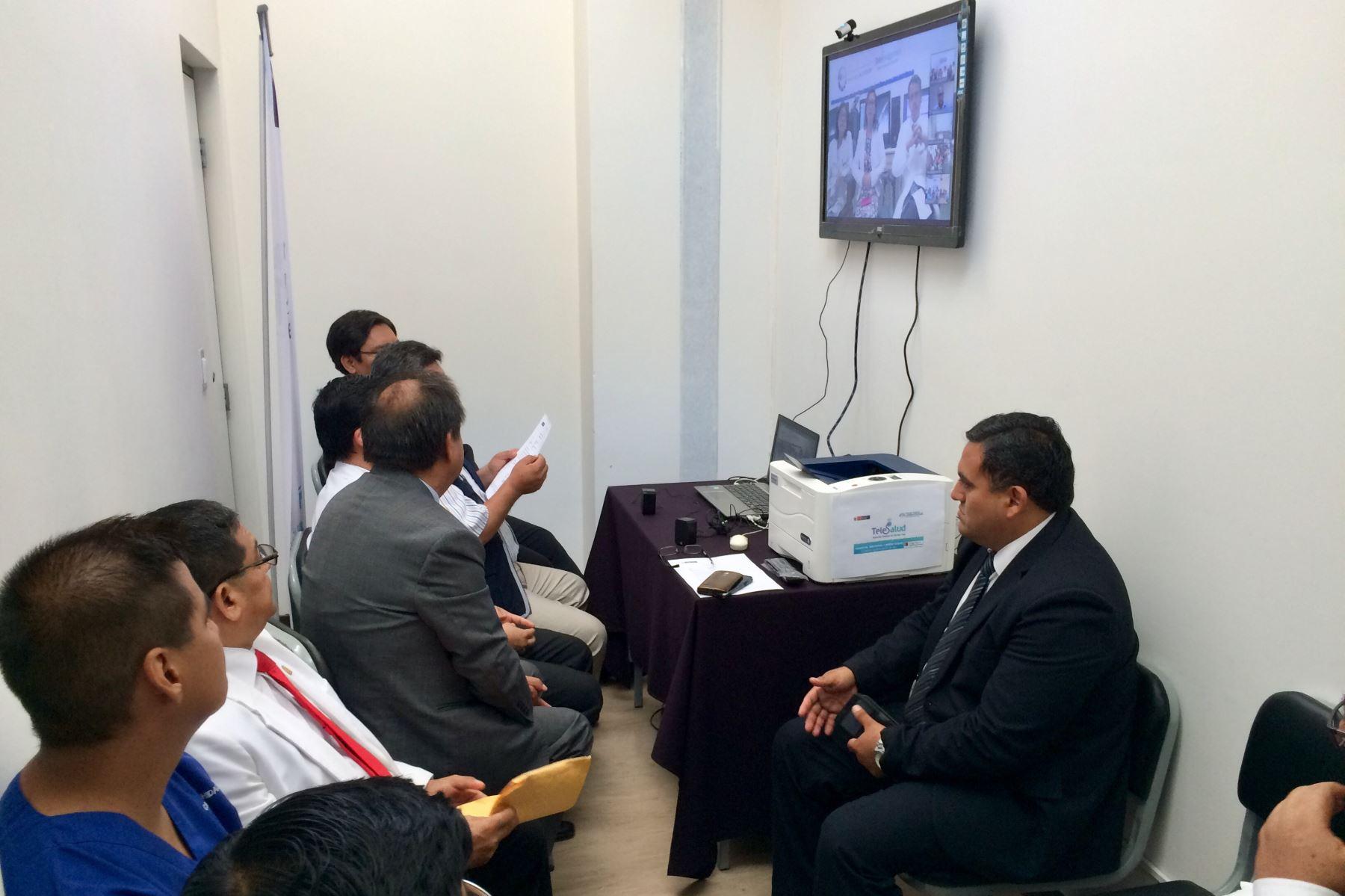 Inician servicios de telesalud en hospitales de región Lambayeque. ANDINA