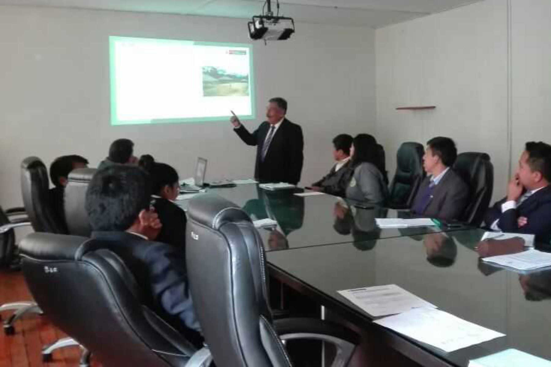 Minagri capacita a regiones en uso de plataformas tecnológicas de catastro rural. ANDINA/Difusión
