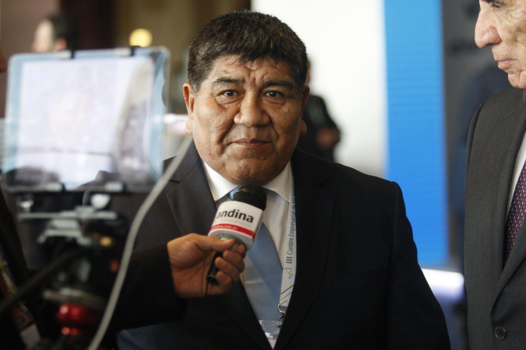 Rómulo Mucho. ANDINA/Eddy Ramos