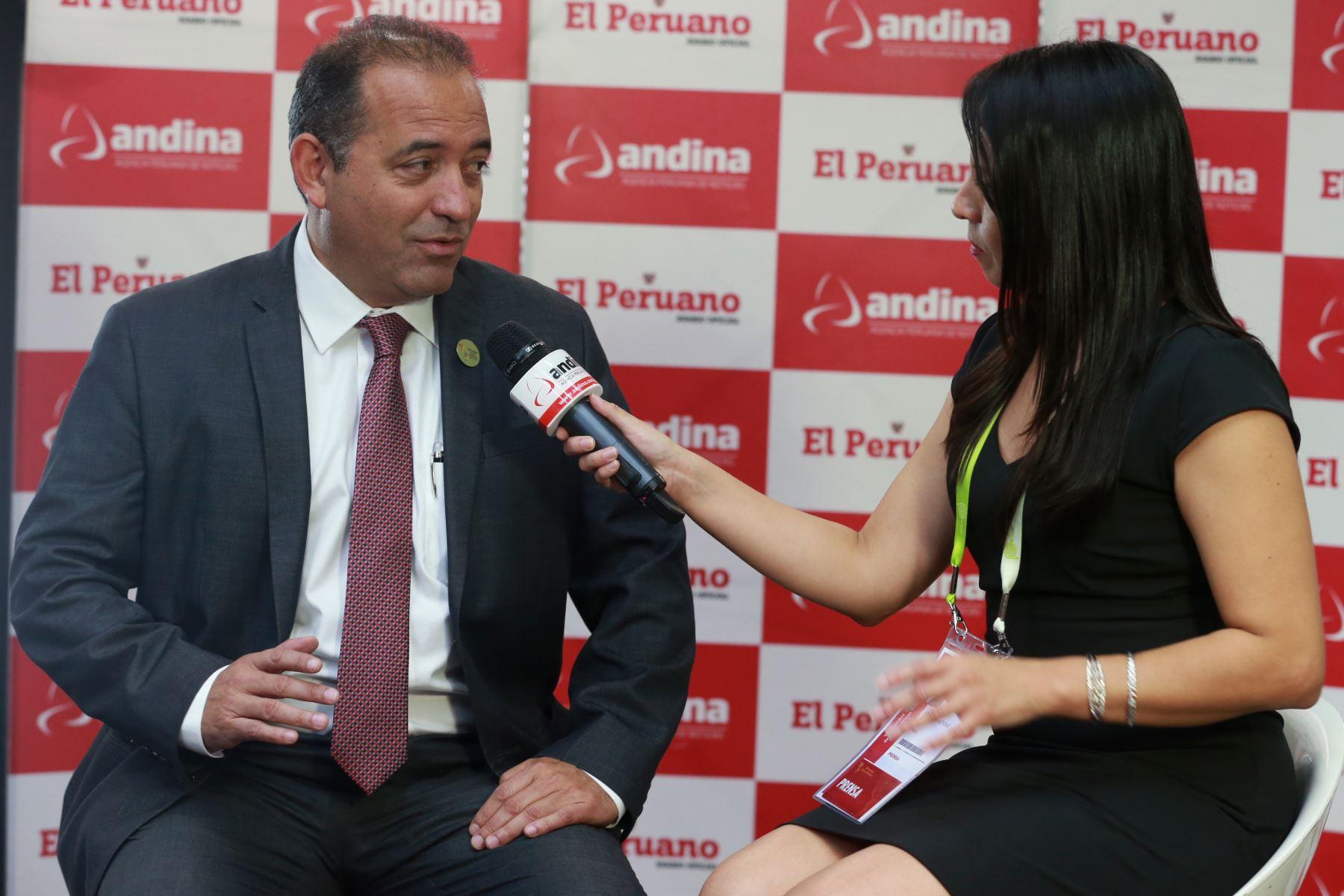 Ministro de la Producción, Daniel Córdova. Foto: ANDINA/Norman Córdova.