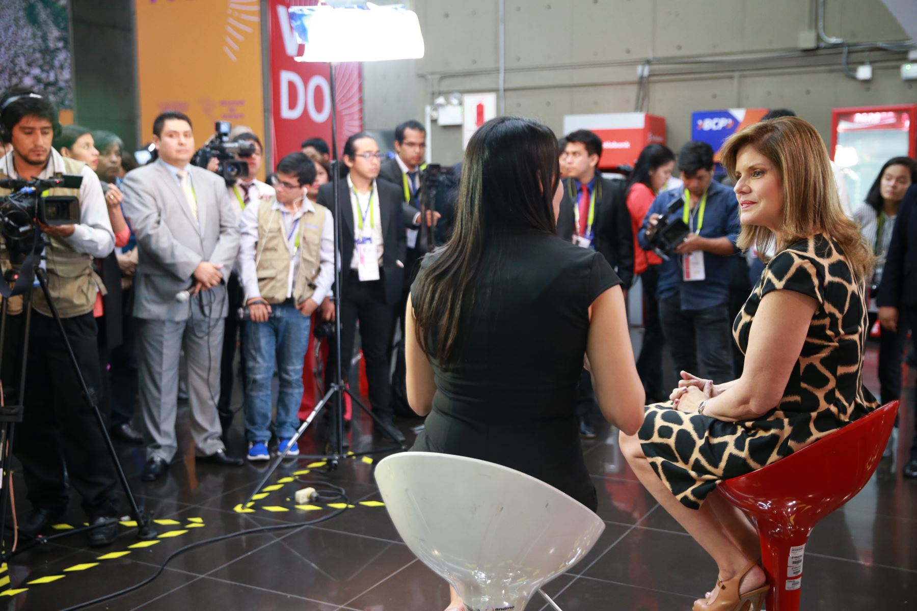 Mercedes Aráoz, vicepresidenta de la República. Foto: ANDINA/Norman Córdova.