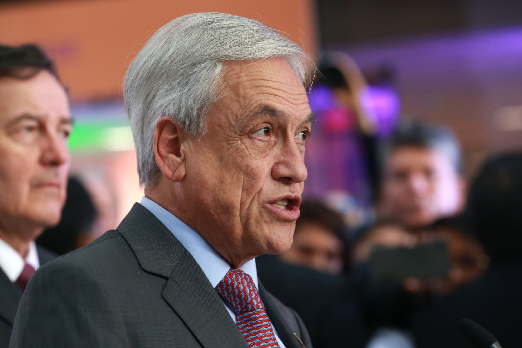 Presidente de Chile, Sebastián Piñera. Foto: ANDINA/Norman Córdova.