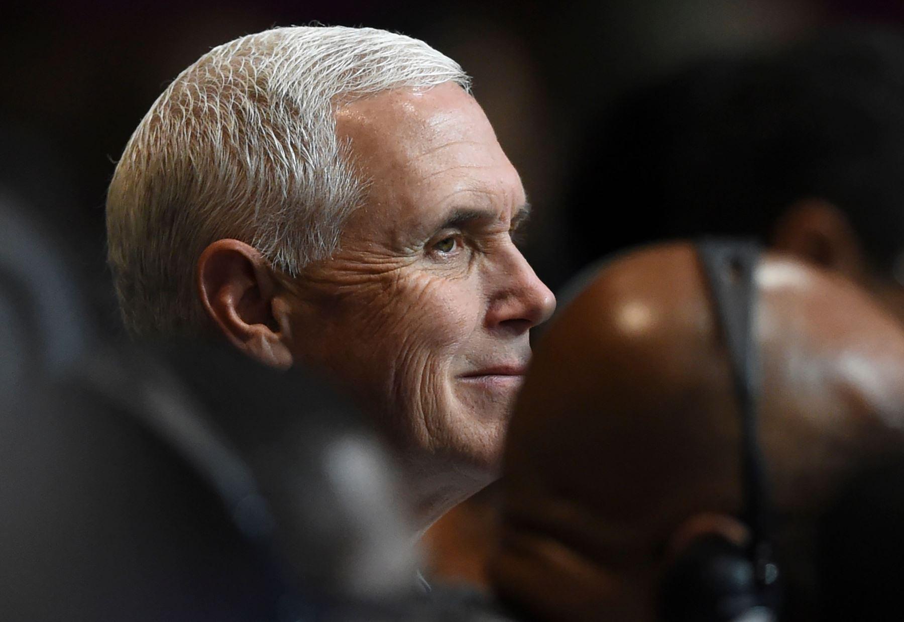 Vicepresidente estadounidense Mike Pence Foto: AFP