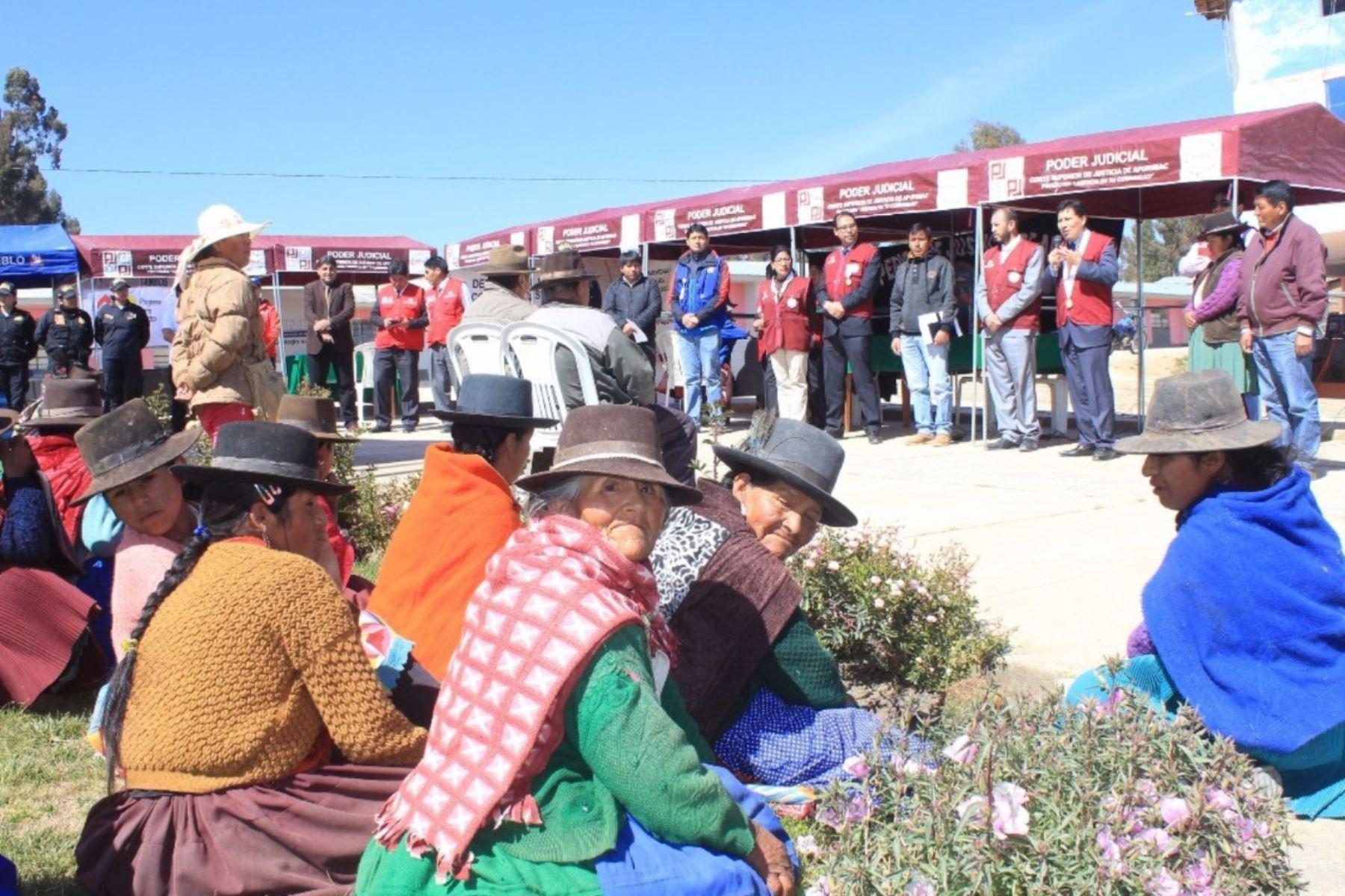 Ministerio de Cultura certificará a funcionarios públicos de Apurímac por brindar servicios en quechua. ANDINA/Difusión