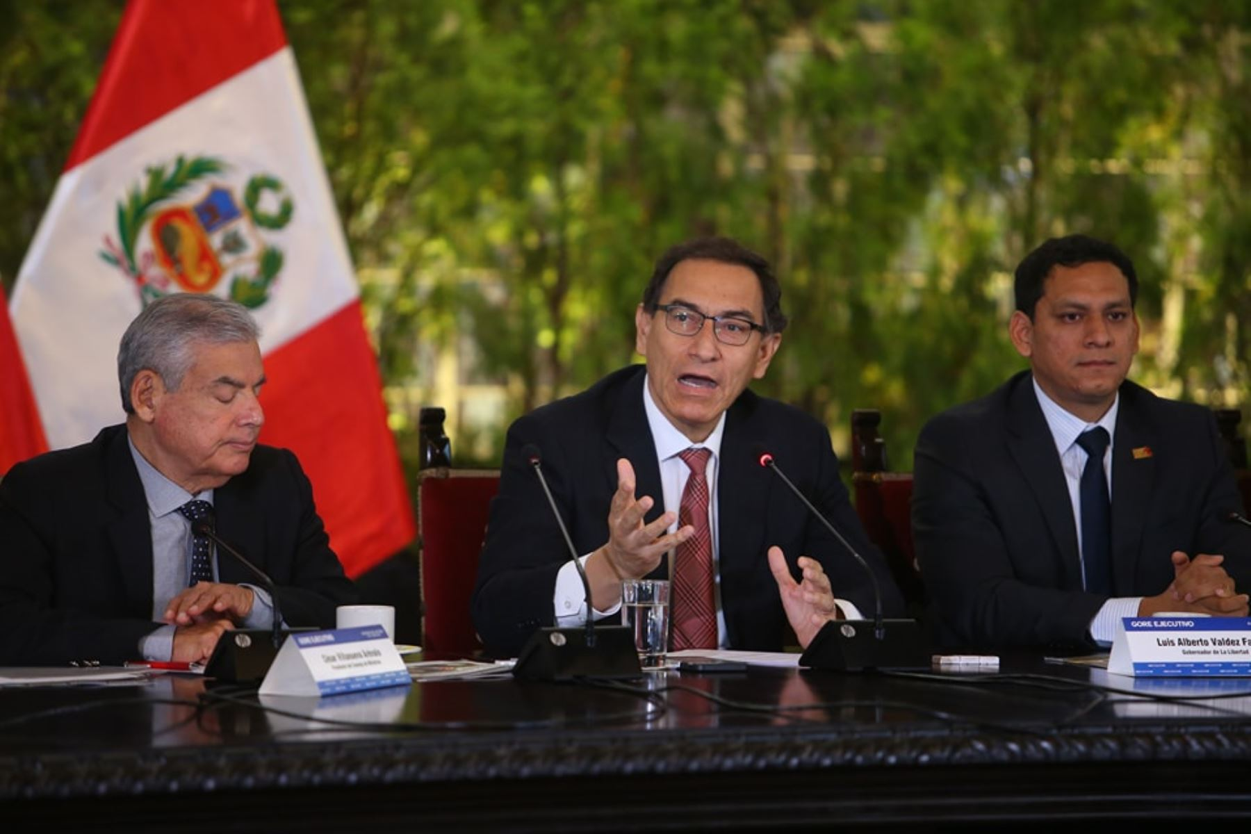Presidente Martín Vizcarra lidera la última jornada del Gore-Ejecutivo Extraordinario. Foto: ANDINA/Prensa Presidencia.