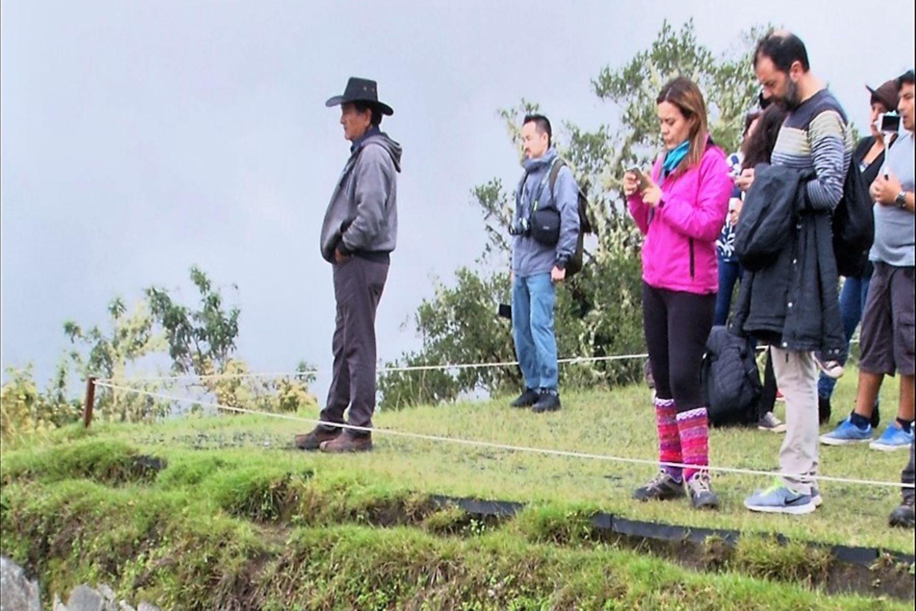 Con pisos especiales reducen el impacto de lluvias en Machu Picchu. ANDINA