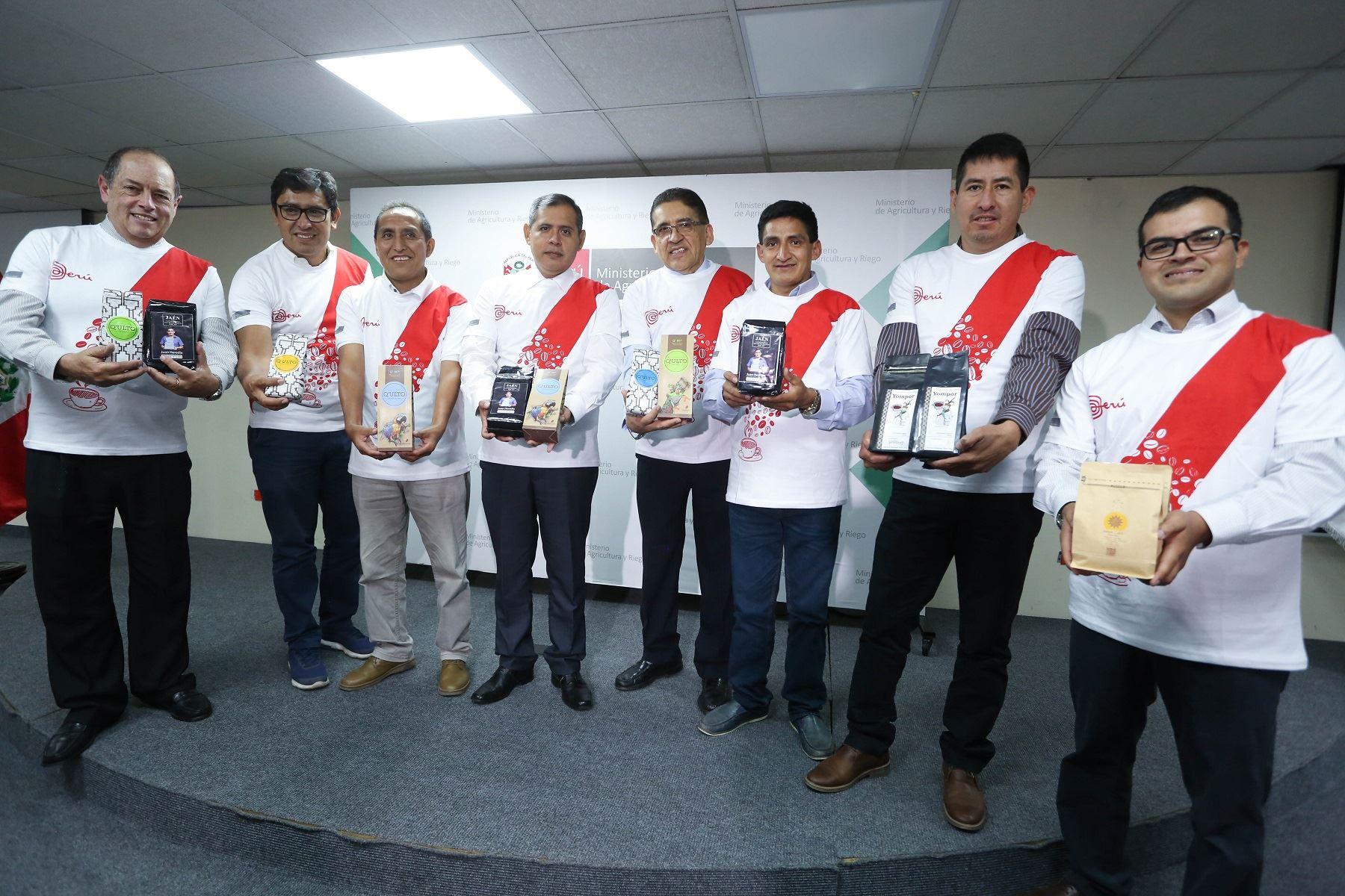 Perú es el primer abastecedor de cafés especiales a EE.UU. bajo sello de Comercio Justo.